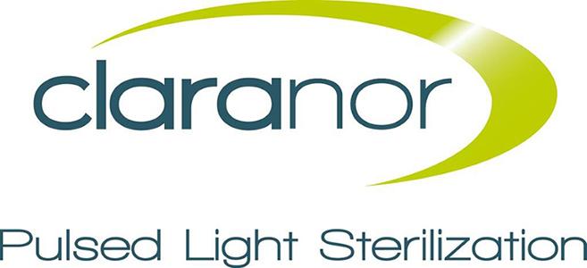 logo Claranor Pulsed Light Sterilization