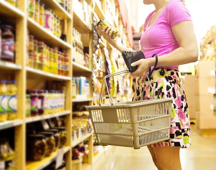 Emballage réutilisable, le tote bag. Celui-ci permet de faire ses courses en vrac de façon écologique.