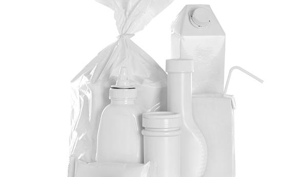Emballage blanc