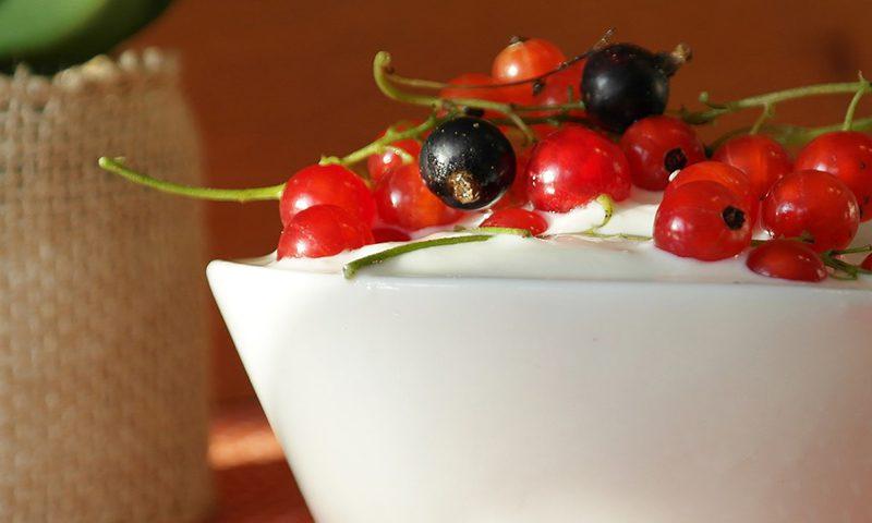 Yaourt et fruits