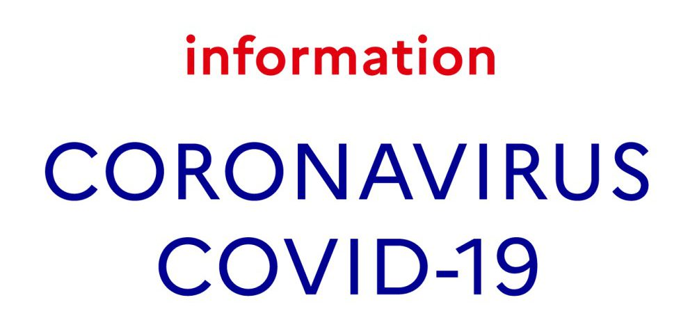 Information sur coronavirus covid-19