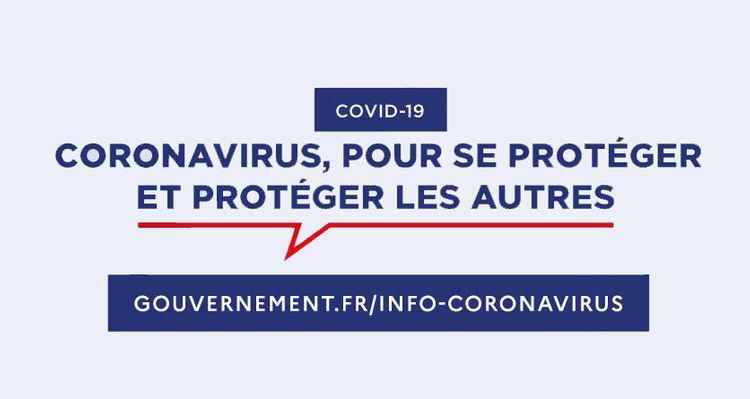 Information coronavirus gouvernement