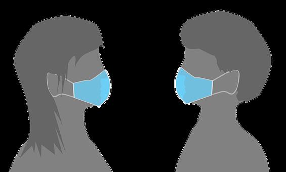 Distance sociale et masque