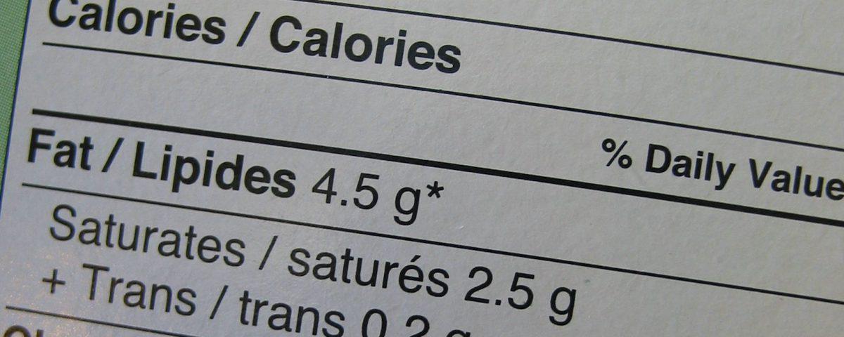 étiquetage des aliments