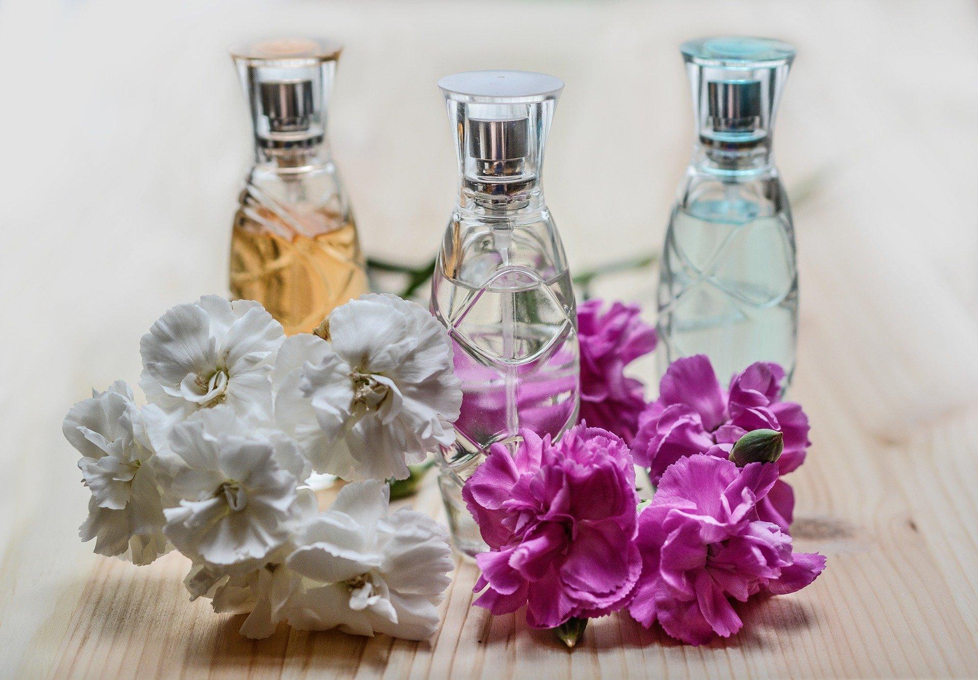 Parfum bouteille verre