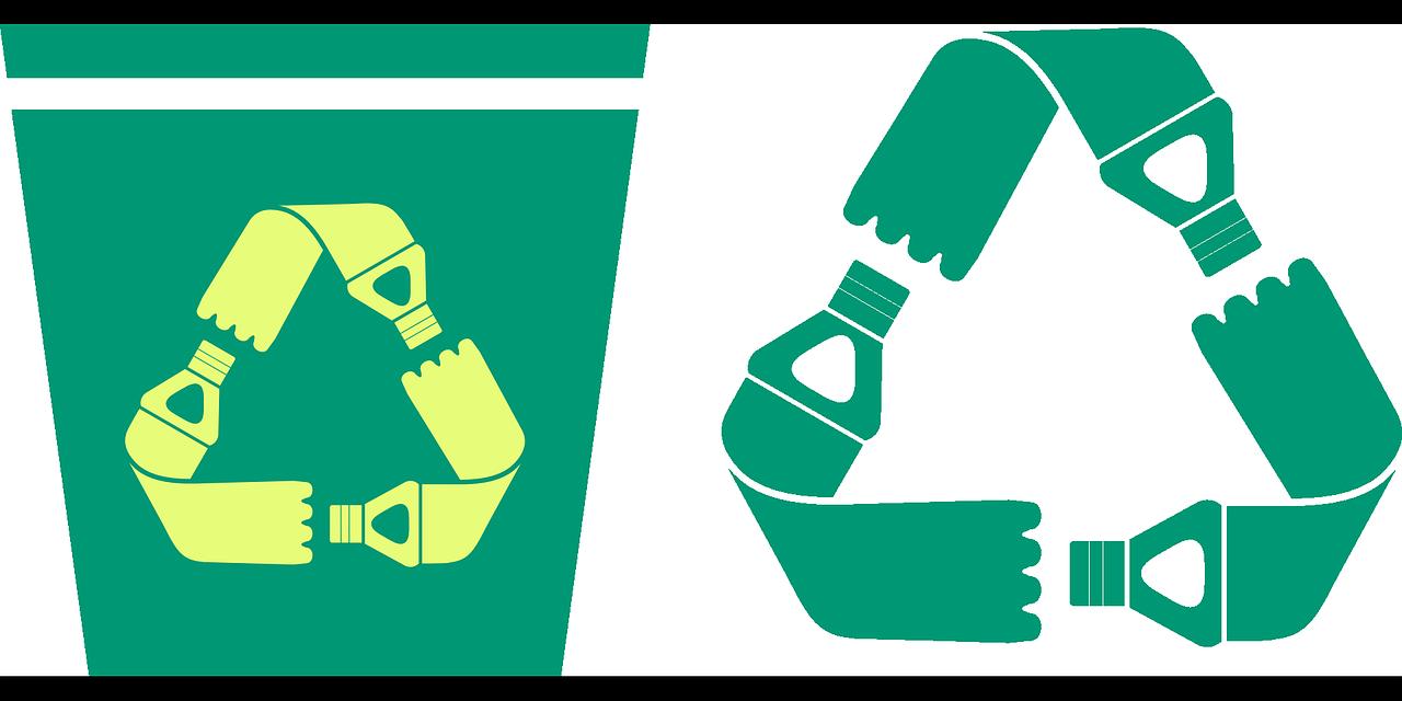 Symbole de l'écologie, l'arbre, tenu entre deux mains. La réduction de l'emballage favorise l'écologie.